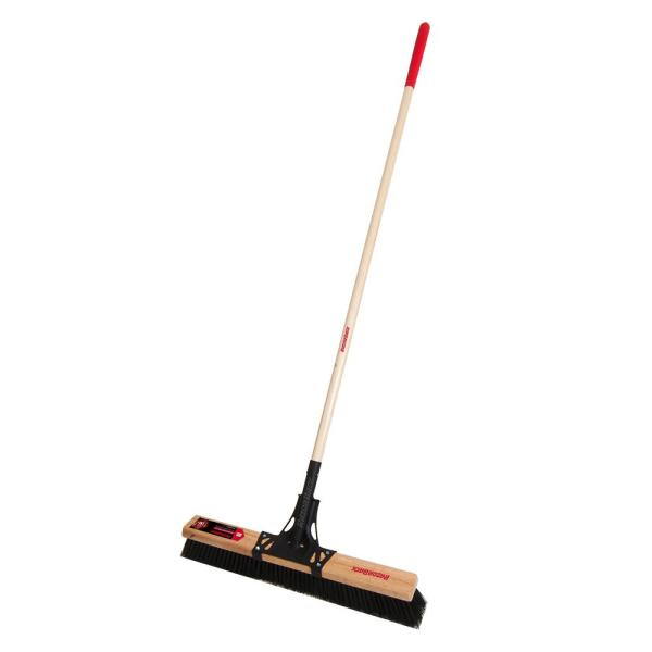 24 in. Rough Push Broom
