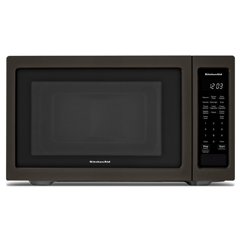 1.6 cu. ft. Countertop Microwave in PrintShield Black Stainless