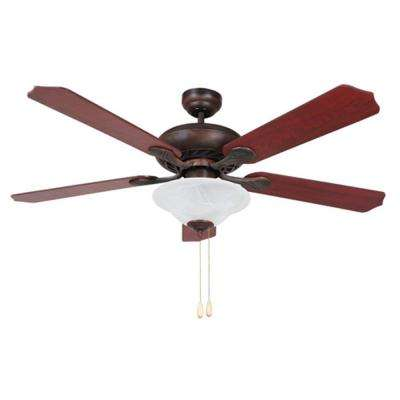 BODI 52 in. Oil-Rubbed Bronze Ceiling Fan