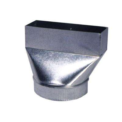 3-1/4 in. x 10 in. x 7 in. Hood Transition Fan Boot