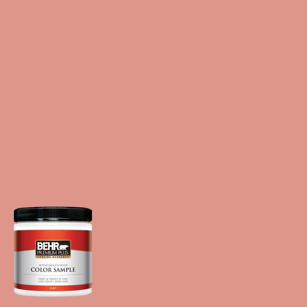 8 oz. #BIC-18 Fresh Watermelon Interior/Exterior Paint Sample