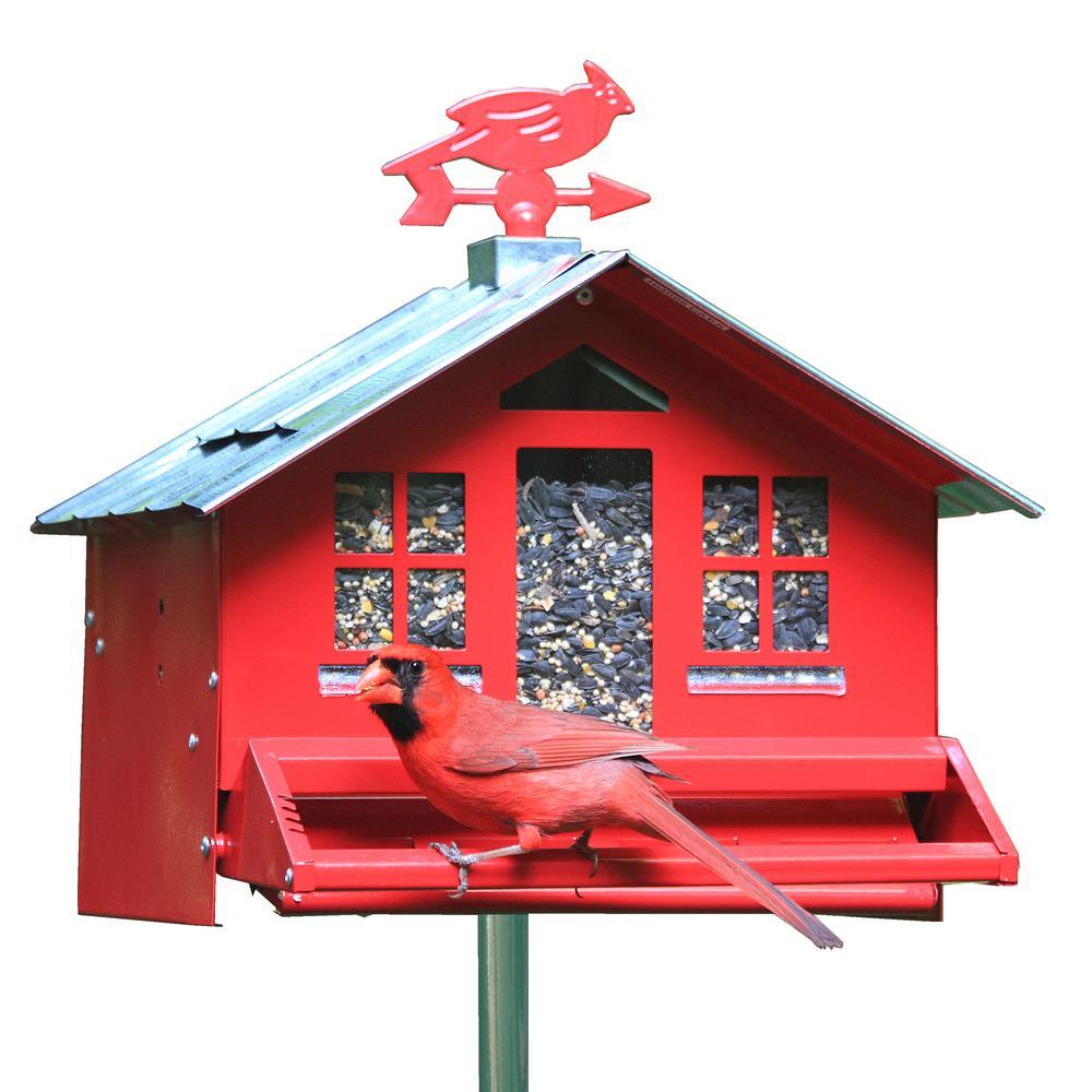 Squirrel-Be-Gone II Country Style Bird Feeder – 8 lb (SKU# 338)