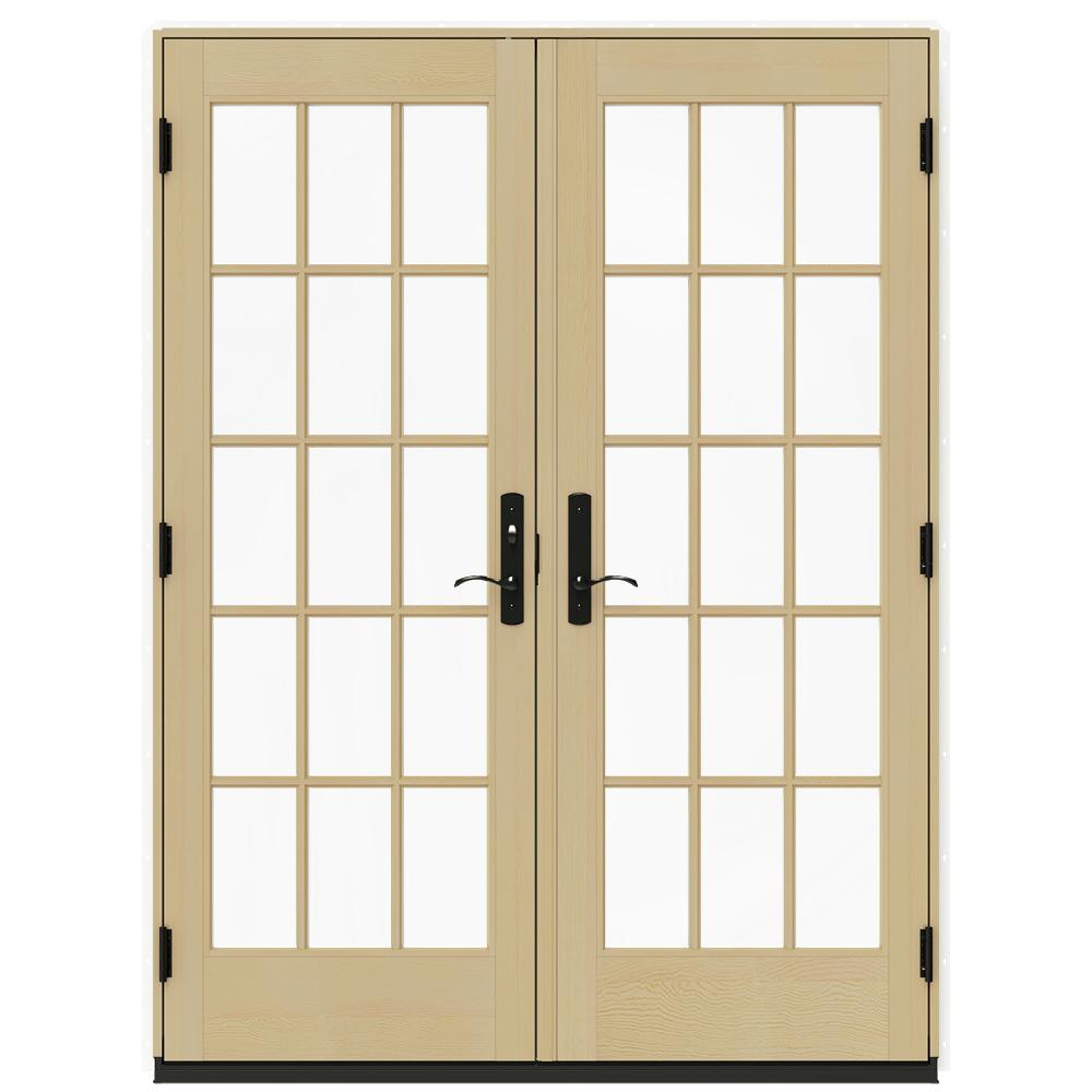 The home depot ever jamb exterior door frame kit 303 064c for 60 x 80 exterior french doors