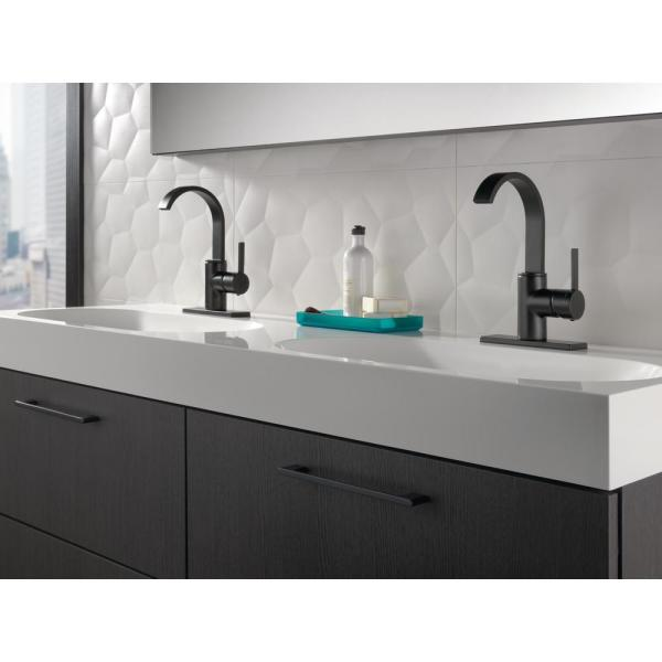 bathroom cover or not to cover beneath my.htm delta mandolin 4 in centerset single handle bathroom faucet in  centerset single handle bathroom faucet