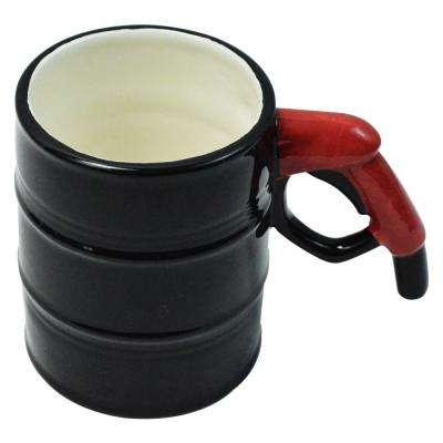 14 oz. Oil Drum Mug