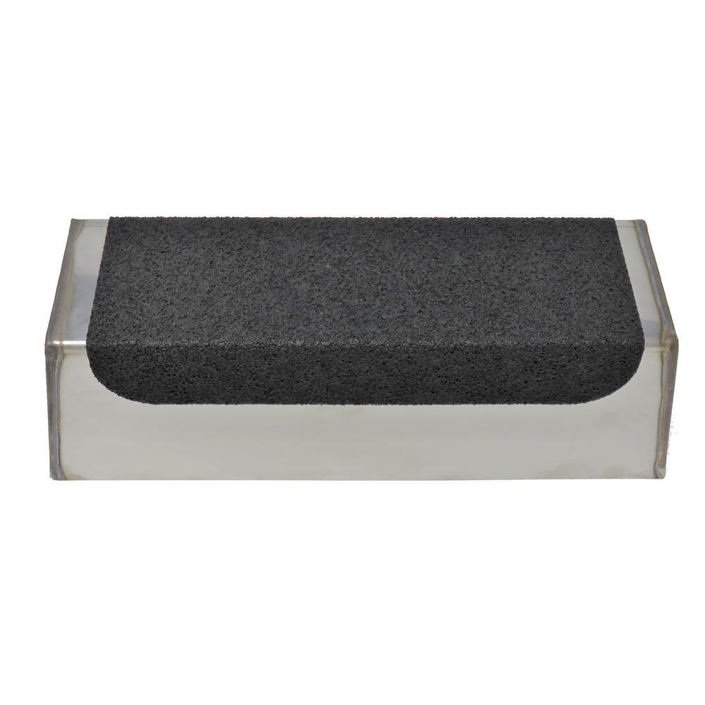 10 in. EZ-Grip Stainless Steel Mud Pan