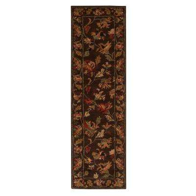 Governor Brown 2 ft. x 8 ft. Runner Rug