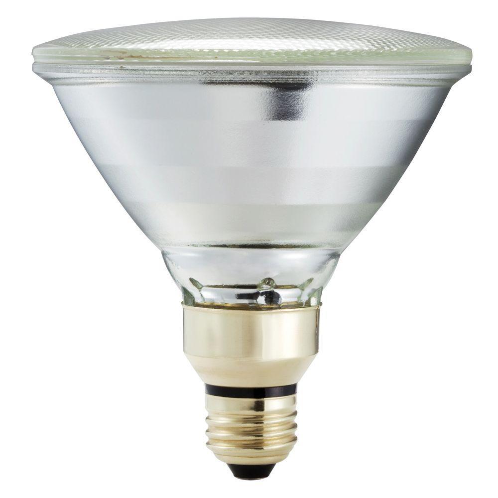 90-Watt Equivalent Halogen PAR38 Indoor/Outdoor Long Life Spotlight Bulb