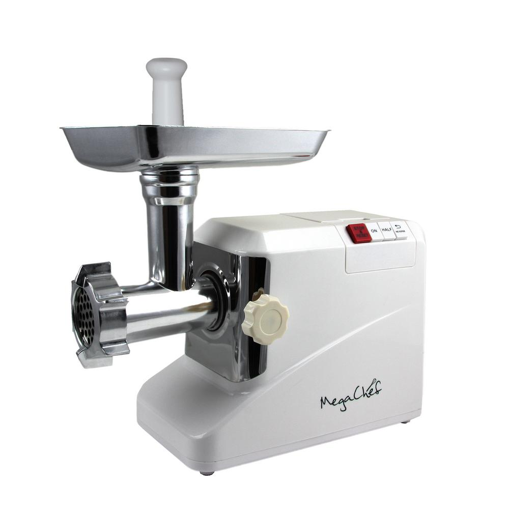 MG-750 1800W Meat Grinder with Kibbe and Sausage Attachments