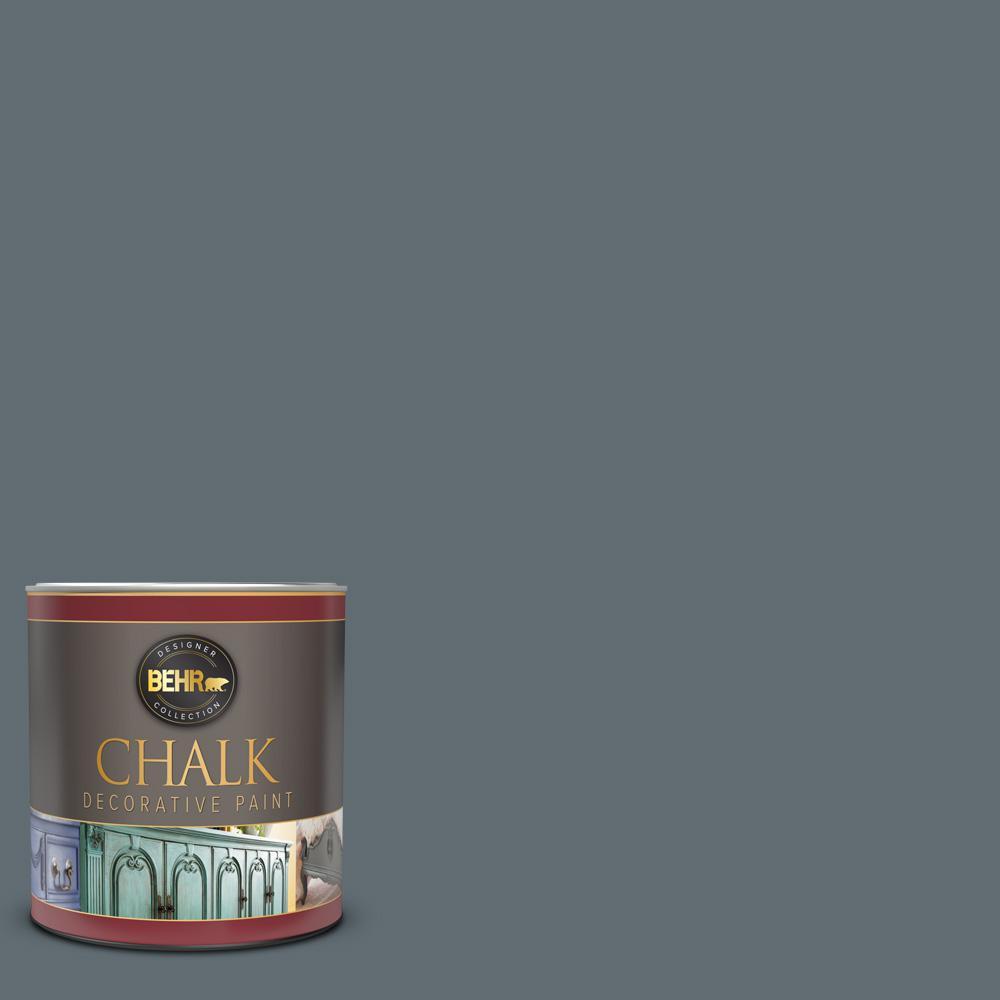 1 qt. #BCP44 Onyx Gray Interior Chalk Decorative Paint