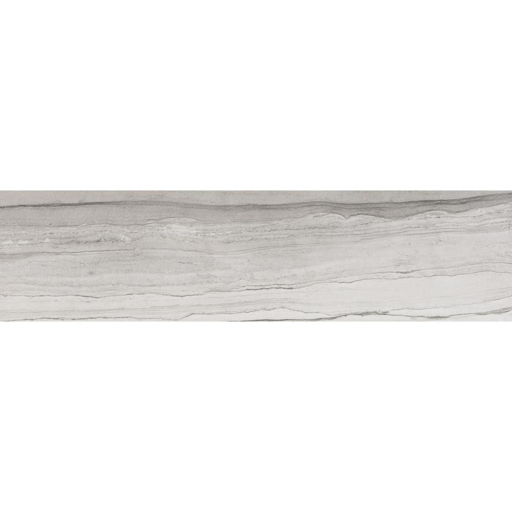 Action Drift 3 in. x 23 in. Porcelain Single Bullnose Wall Tile