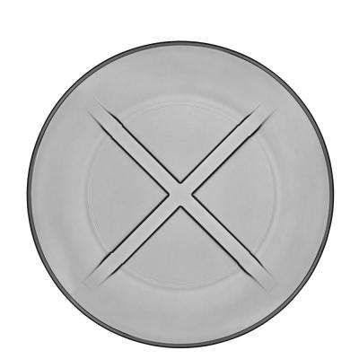 Bruk Smoke Grey Salad Plate (Set of 4)