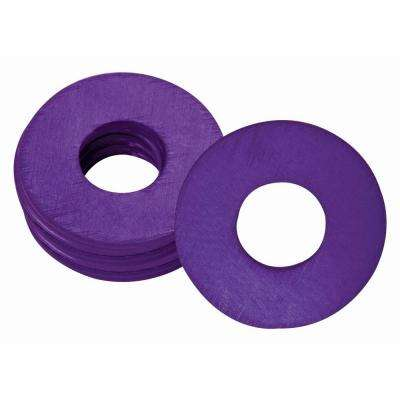 UltraView 1/4 in. x 28 in. Grease Fitting Washers in Purple (25 per Bag)