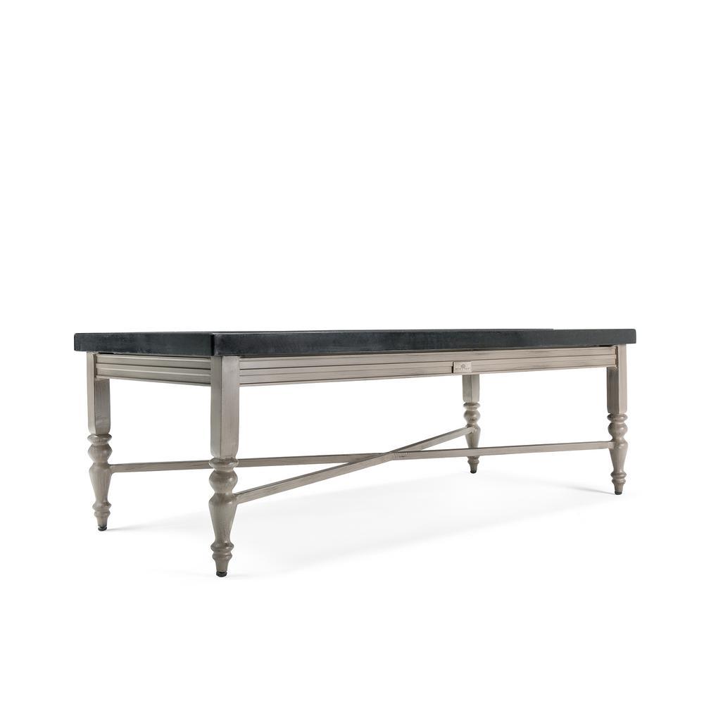 Saylor Rectangular Aluminum Top Outdoor Coffee Table