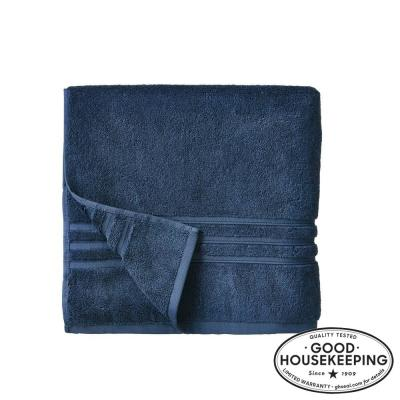 Turkish Cotton Ultra Soft Bath Towel in Navy