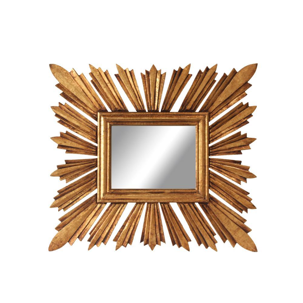 Chilton Gold Framed Mirror