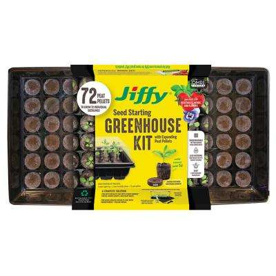 72 Peat Pellet Pro Seed Starting Greenhouse with SUPERthrive