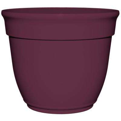Bri 14 in. Beret Plastic Planter Fits 12 in. Drop-N-Bloom