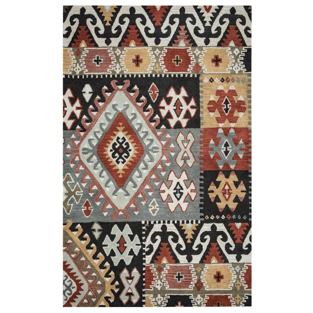 Rizzy Home Southwest Multicolor 9 Ft X 12 Area Rug