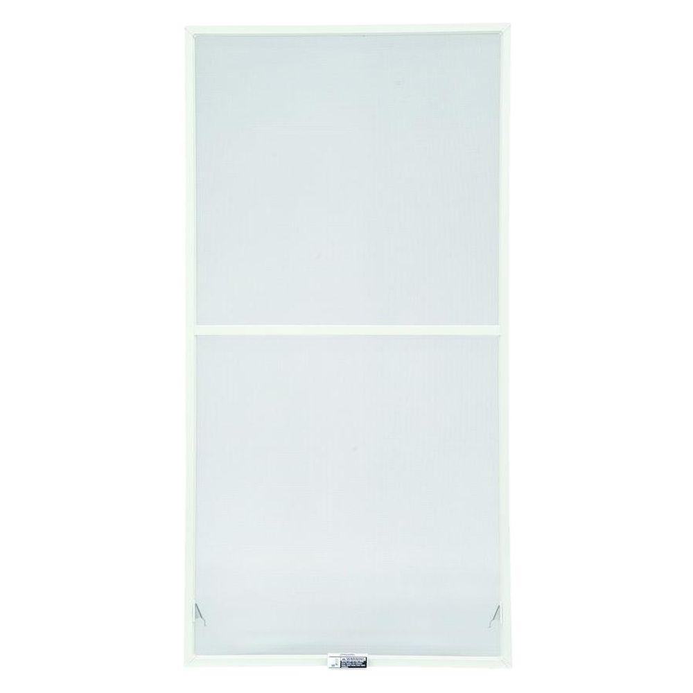 31-7/8 in. x 54-27/32 in. White Aluminum Insect Screen