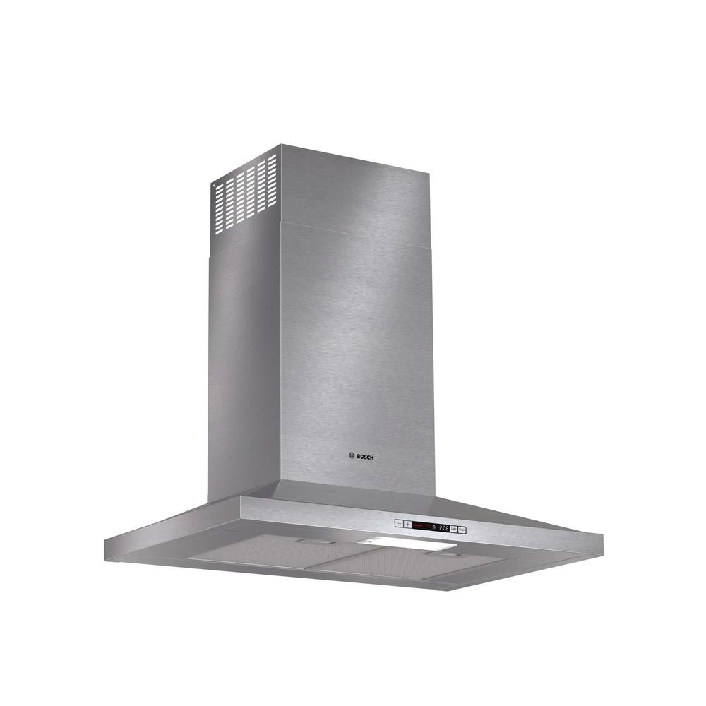 300 Series 30 in. Pyramid Style Canopy Range Hood with Lights