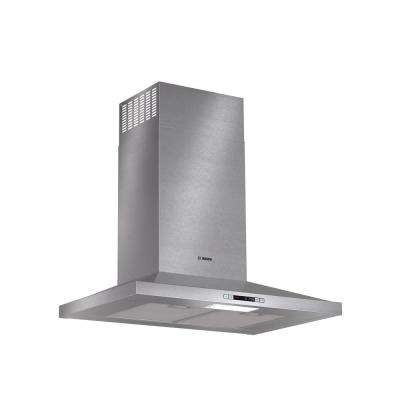 300 Series 30 in. Pyramid Style Canopy Range Hood with Lights in Stainless Steel, Energy Star