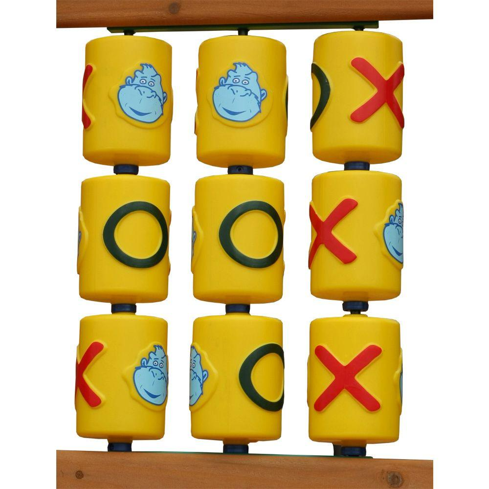 Gorilla Playsets Tic-Tac-Toe Spinner Panel