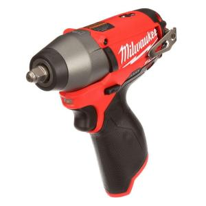 Click here to buy Milwaukee M12 FUEL 12-Volt Lithium-Ion Brushless Cordless 3/8 inch Impact Wrench (Tool-Only) by Milwaukee.