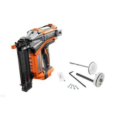 18-Volt Cordless Brushless 18-Gauge 2-1/8 in. Brad Nailer (Tool-Only), Belt Clip, Bag, Sample Nails, and Maintenance Kit