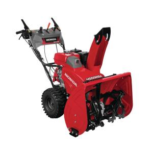 Honda 28 inch Hydrostatic Wheel Drive 2-Stage Snow Blower with Electric Joystick Chute Control by Honda