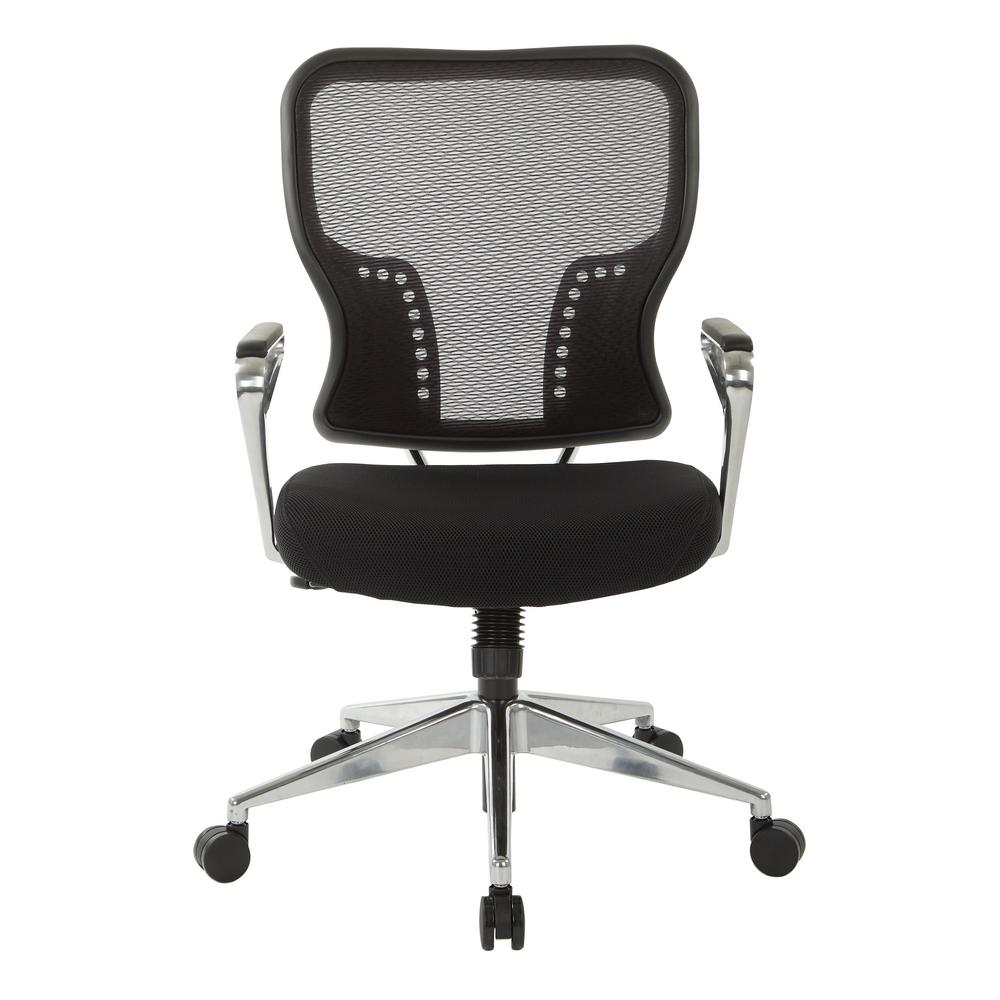 Merveilleux Space Seating Air Grid Back And Padded Mesh Seat Chair