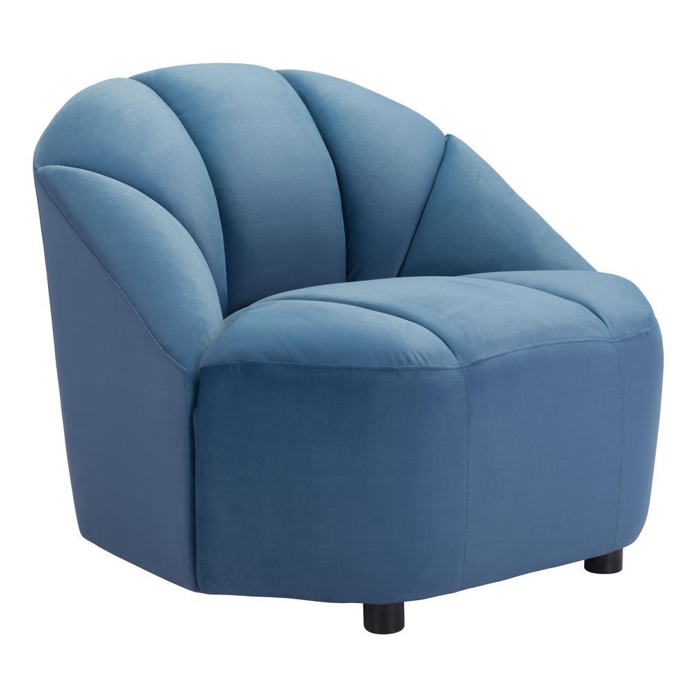 Paramount Dark Blue Accent Chair