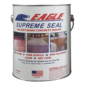 Eagle 1 Gal Supreme Seal Clear High Gloss Solvent Based
