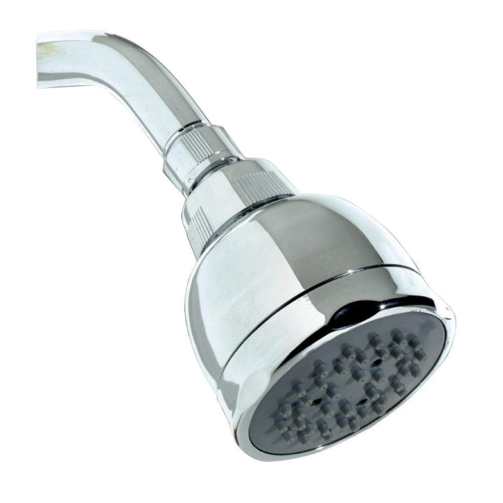 brondell chrome shower product vivaspring filtered head in