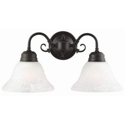 Millbridge 2-Light Oil-Rubbed Bronze Wall Mount Sconce