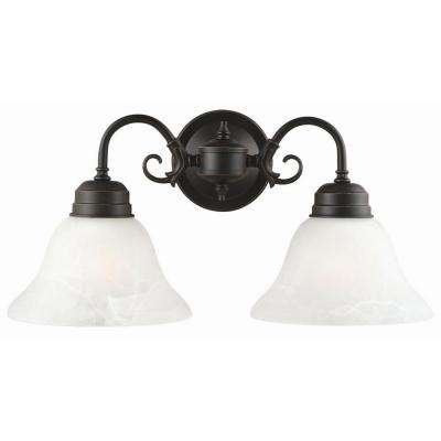 Millbridge 2-Light Oil Rubbed Bronze Wall Mount Sconce