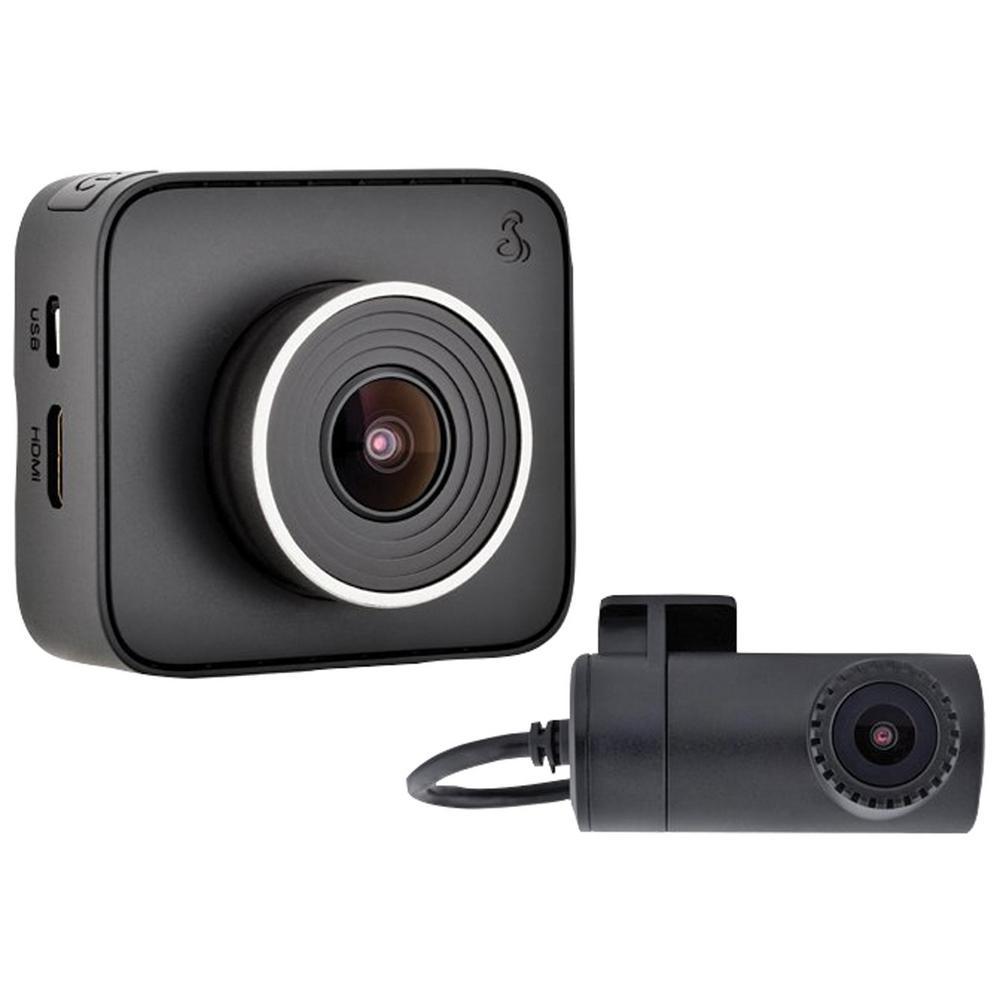 Dual Dash Cam >> Cobra Drive Hd Dash 2316d Dual View Dash Cam With Iradar