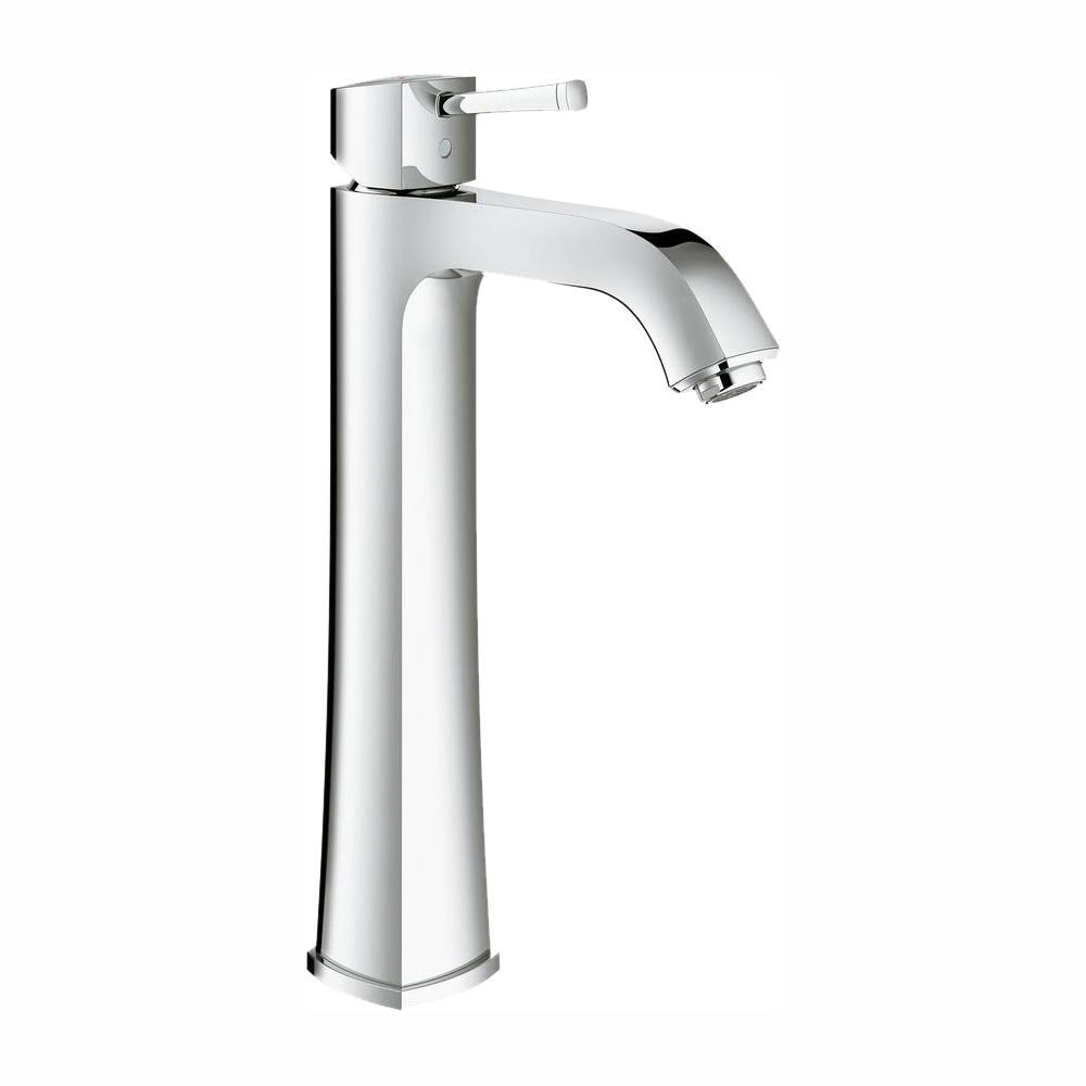 GROHE Grandera Single Hole Single-Handle 1.2 GPM Bathroom Faucet in StarLight Chrome