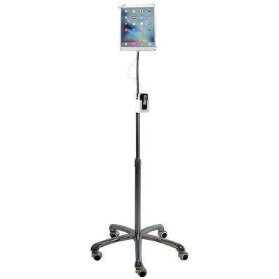 Heavy-Duty Security Gooseneck Floor Stand for 7 in. - 13 in. Tablets