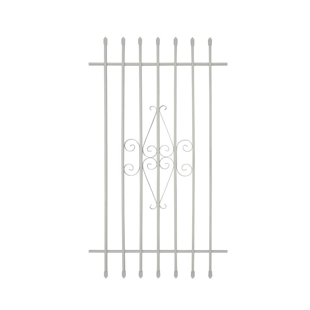 30 in. x 54 in. Spear Point 6-Bar Security Bar Window