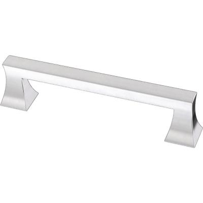 Modern A-Line 3-3/4 in. (96 mm) Polished Chrome Drawer Pull