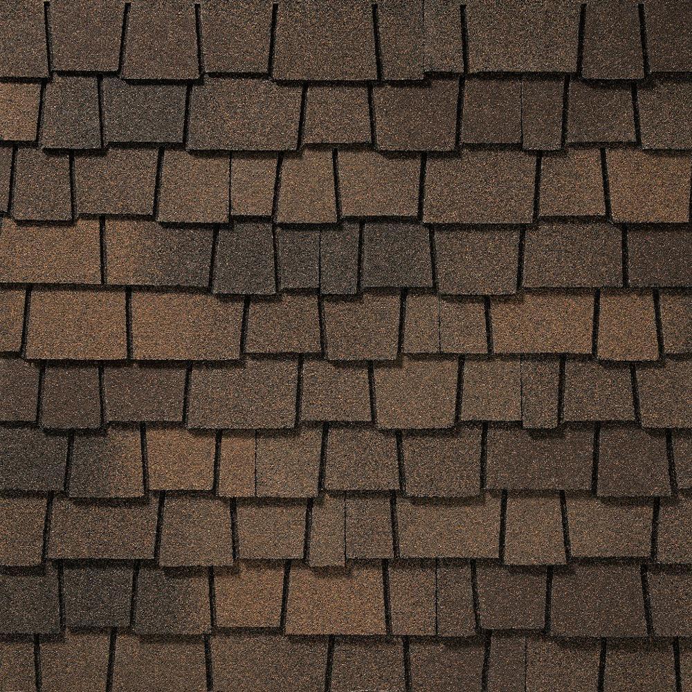 GAF Glenwood Adobe Clay Designer Architectural Shingles (11.1 sq. ft. per Bundle) (10-pieces)