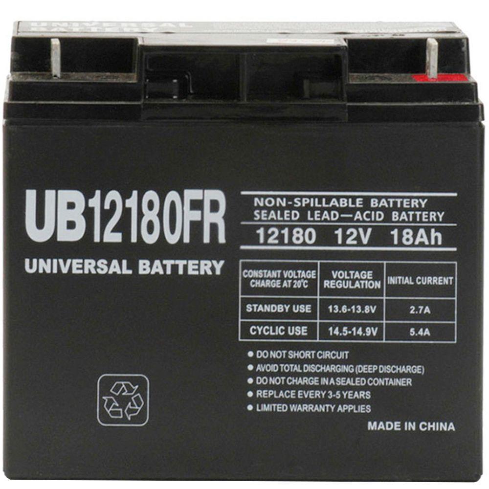 UPG SLA 12-Volt T4 Terminal Battery