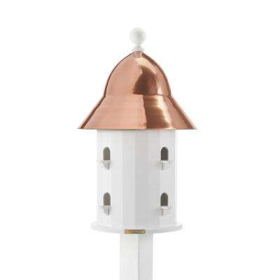 Lazy Hill Farm Designs Bell Birdhouse with Polished Copper Roof