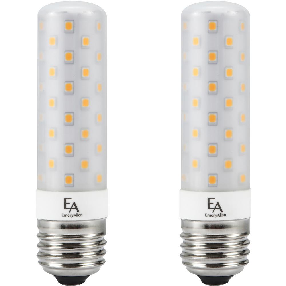 75-Watt Equivalent E26 Base Dimmable 3000K LED Light Bulb Soft White (2-Pack)