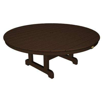 Cape Cod Vintage Lantern 48 in. Round Patio Conversation Table