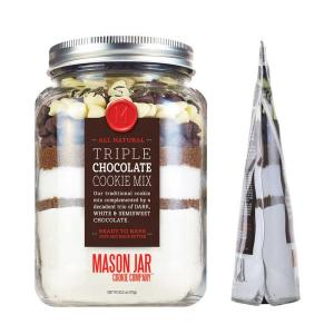 Triple Chocolate Chip Cookie Mix in a Softjar Pouch