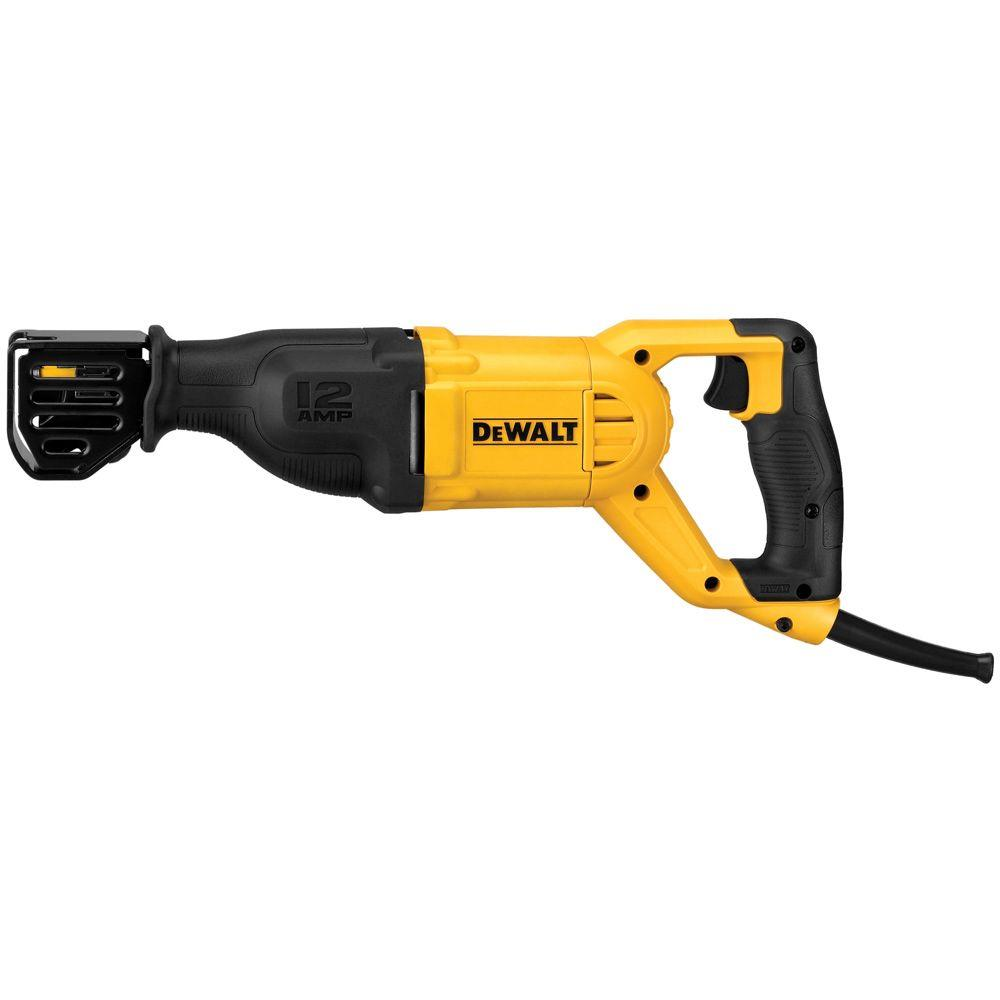 Dewalt 12 amp corded reciprocating saw dwe305 the home depot dewalt 12 amp corded reciprocating saw keyboard keysfo Choice Image