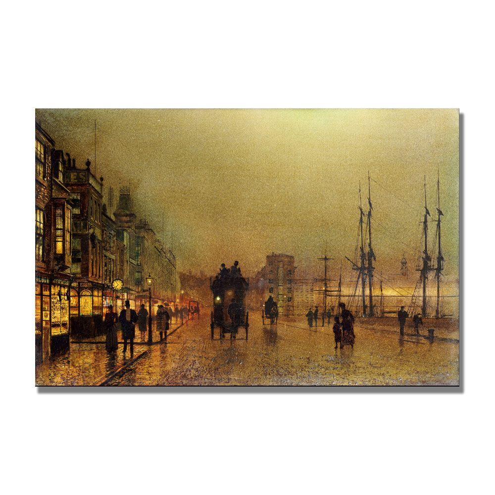22 in. x 32 in. Glasgow Canvas Art