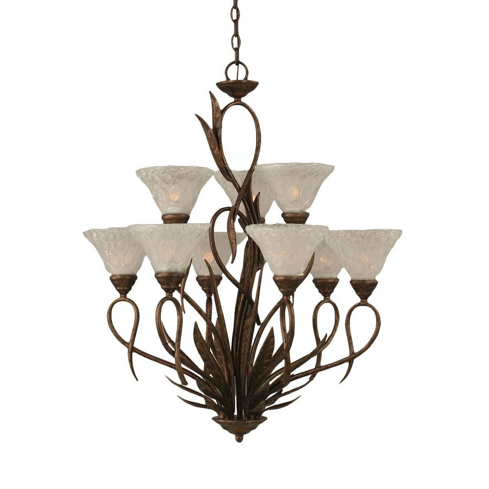 Filament Design Concord 9-Light Bronze Chandelier